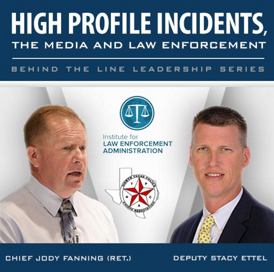 Free Police Leadership Training Featuring Stacy Ettel