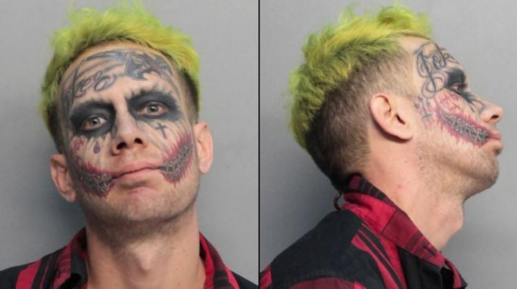 The Joker Arrested In Florida