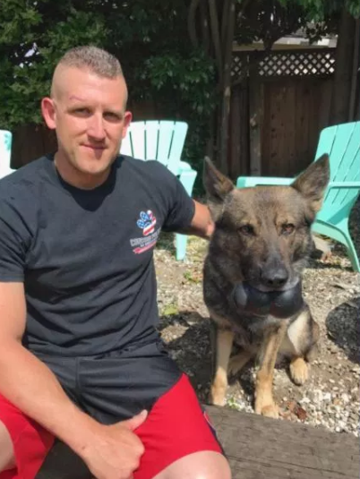 Quick Action By Police Officer Saves K9 In DUI Crash