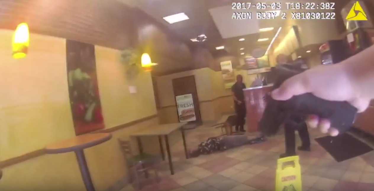 Watch:  San Francisco Police Shoot Suspect In Subway