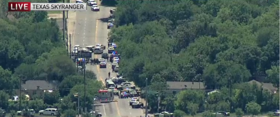 Dallas Active Shooter: Paramedic Shot