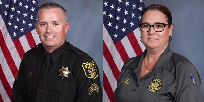 California Deputy and Service Officer Killed In Fiery Crash Responding To Burglary