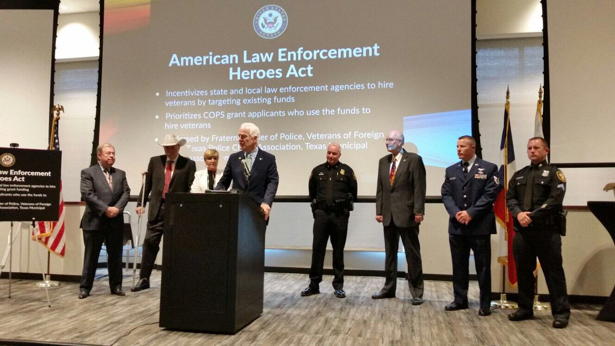 President Trump Signs American Law Enforcement Heroes Act