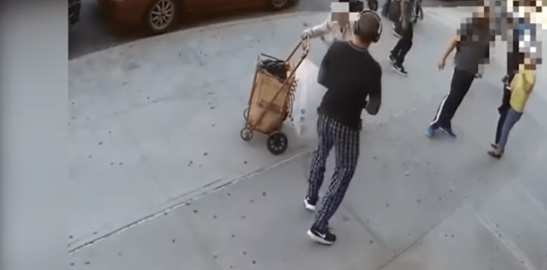 Shocking Video Shows Man Hitting 90 Year Old Man