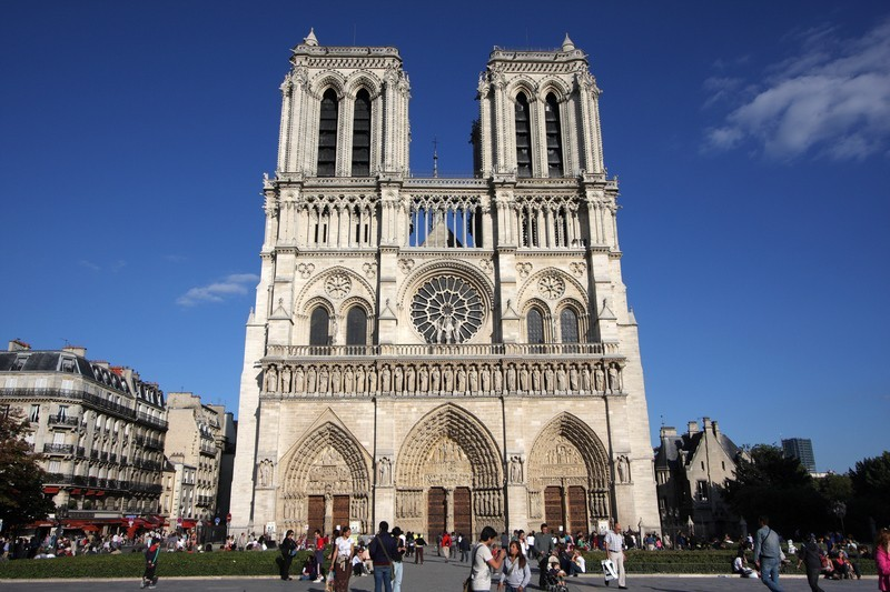 Notre Dame Cathedral On Lockdown After Man Attacks Police With Hammer