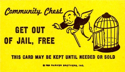 Minnesota Suspect Attempts To Use Monopoly 'Get Out Of Jail Free' Card