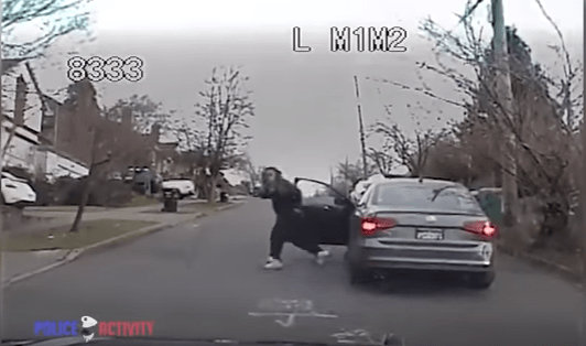 Watch: Suspect Open Fire On Cops After Chase