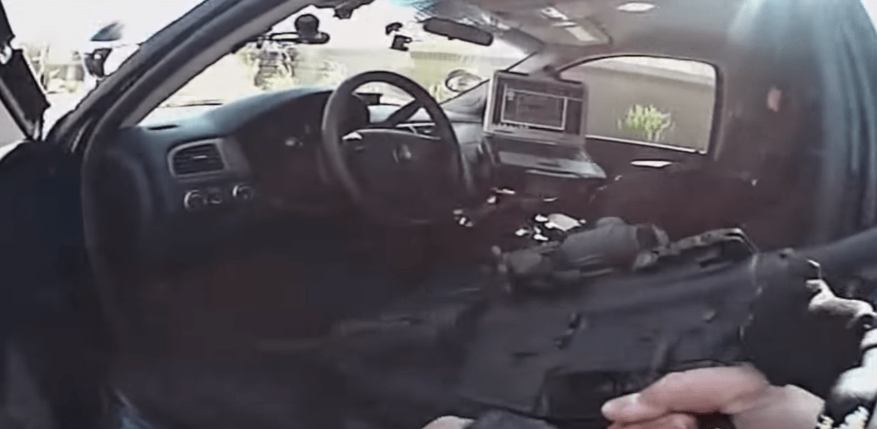 Watch Intense Police Shootout In Arizona