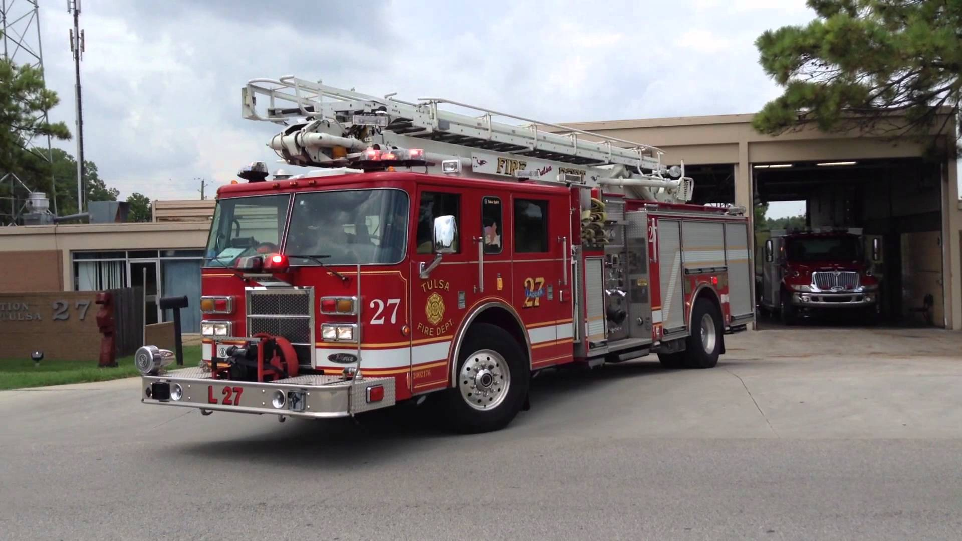 Tulsa Fire Department Removes Support For Law Enforcement On Trucks
