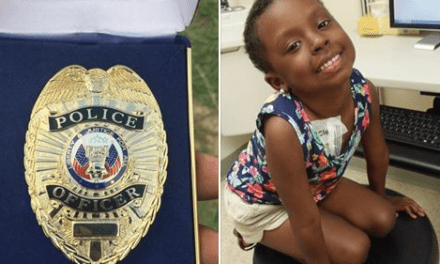 Girl Honored By Police Officers Dies After Battle With Cancer