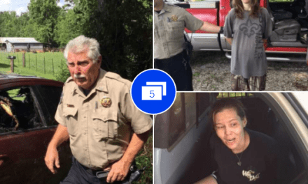Deputy Rescues Women From Burning Car Before They Go To Jail