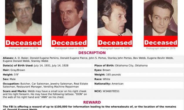 Police Chief's Dead Killer Located 36 Years After Crime