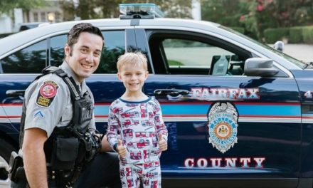 Police Surprise Boy At His Police-Themed Birthday Party