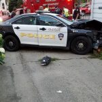 Police Officer Crashes Car Into House