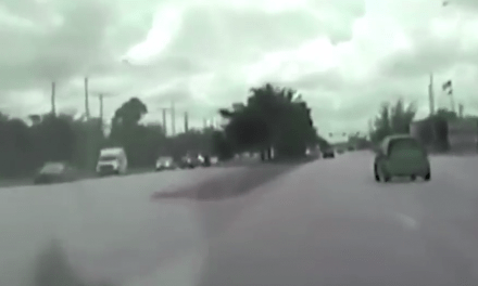 Watch Deputy Crash Into Car At 104 MPH