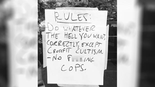 Gym Owner Bans Cops From Working Out