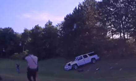 Watch Dramatic Footage Of Officer Involved Shooting At Crash Scene