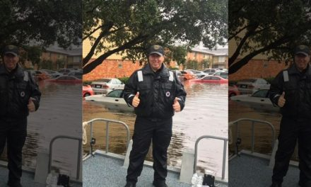 Houston Police Officer Battling Cancer Saves Hundreds In Flood Waters