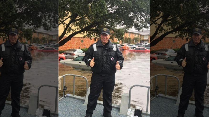 Houston Police Officer Battling Cancer Saves Hundreds In Flood Waters