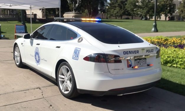 Tesla Model S Being Used By Denver Police