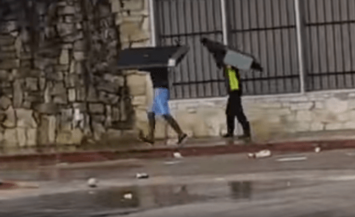 Houston Looters Targeting Law Enforcement, Firefighters