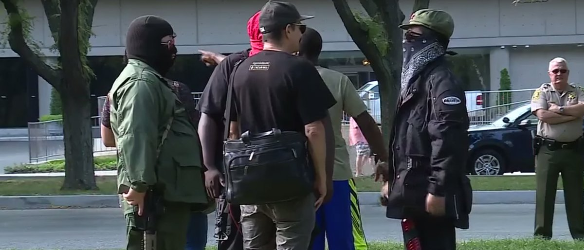 Kansas City Police Disarm Armed 'Antifa' Communist Rally