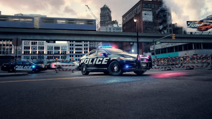 Ford Police Hybrid Sedan And F-150 Police Truck Complete Michigan Police Testing