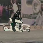 Video: Dubai Police Officer Policing On A Hoverbike