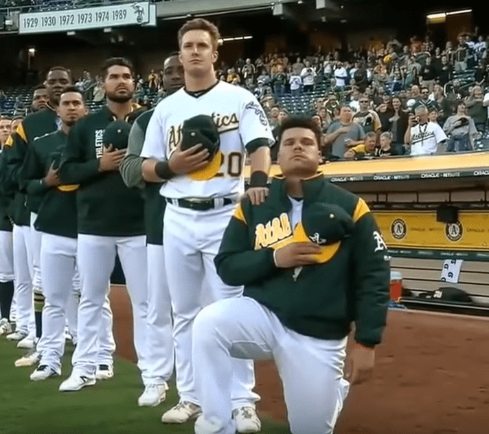 Only MLB Player To Kneel Is Arrested On Gun Charges