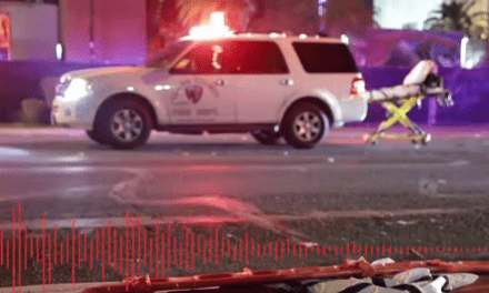 Audio From Las Vegas Incident Released