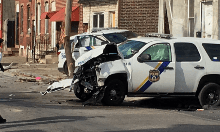 Philadelphia Officers Hurt After Police Cars Crash During Pursuit