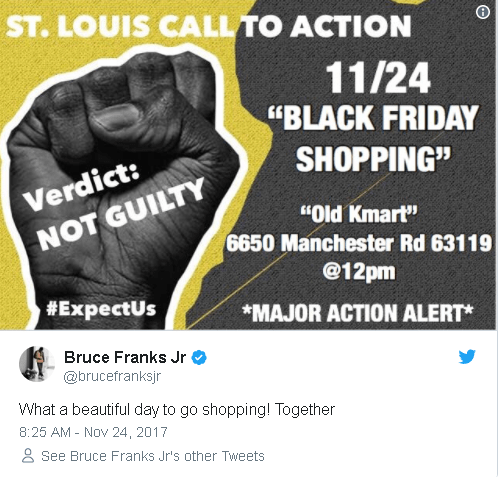 Democratic State Rep. Arrested In Anti-Black Friday Protest
