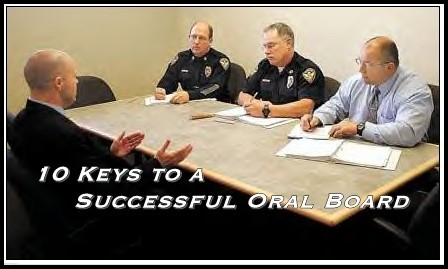 10 Keys to a Successful Oral Board