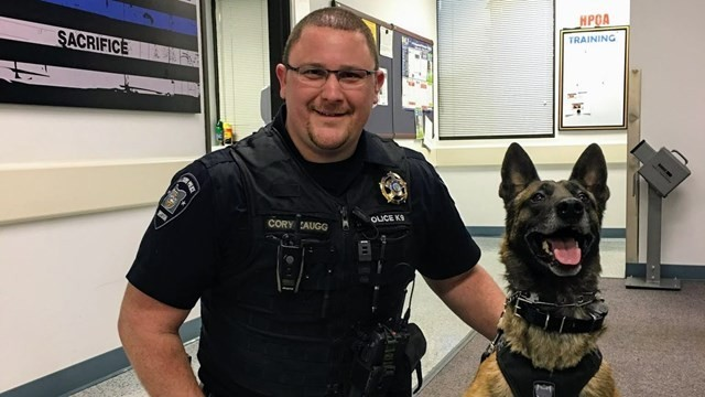 Oregon Police K9 Dies Following Crash
