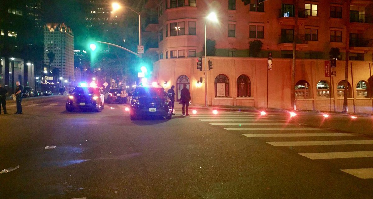 Female LAPD officer shot in ambush Friday night