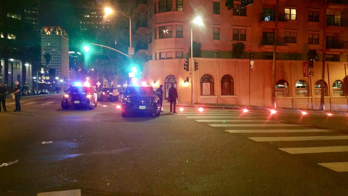 LAPD Officer Ambushed and Shot