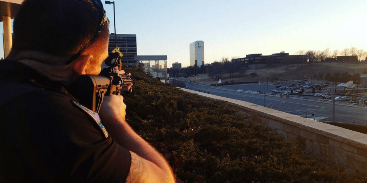 Tulsa Police Defend Photo Of Officer With Rifle