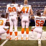 NFL Players Now Kneeling At Home