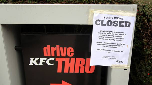 Police Called After KFC Runs Out Of Chicken