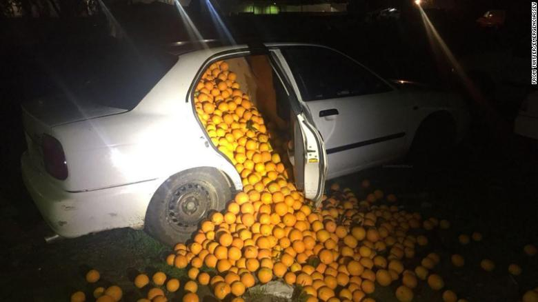 The Great 'Orange' Police Pursuit