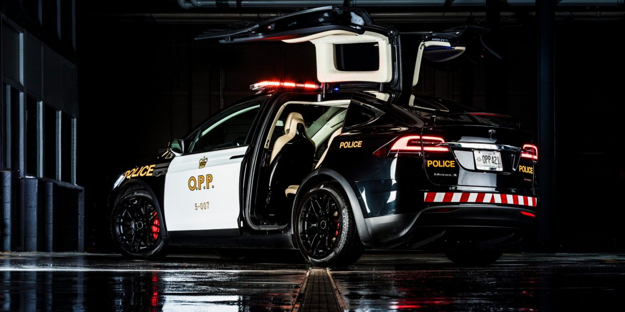 Is The Tesla Model X The Future Of Police Cars?
