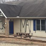 Vandal Paints 'Black Lives Matter' On FOP Building