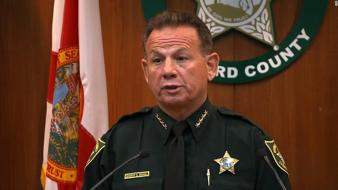 Broward County Sheriff To Be Removed From Office