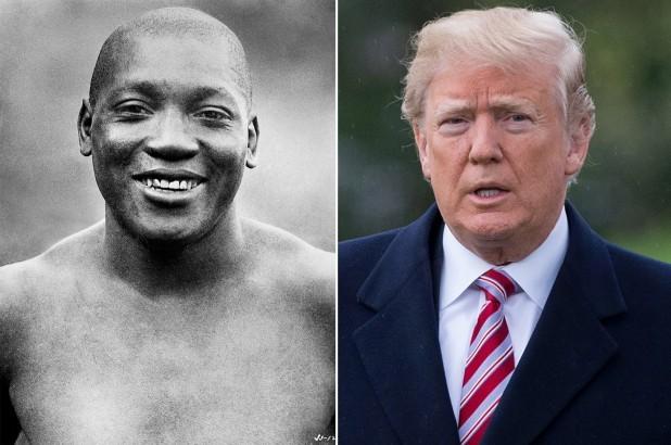 President Trump Pardons Boxing Legend Jack Johnson