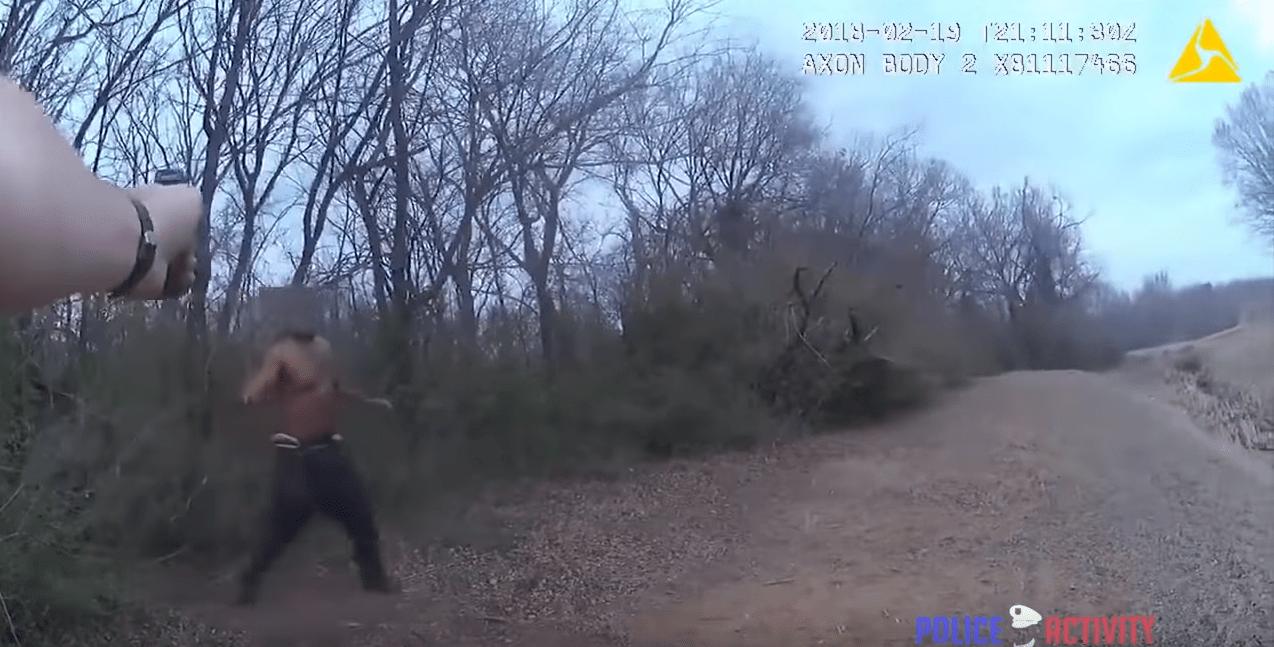 Video: Suspect Swinging Knife Fatally Shot After Taser Deployment