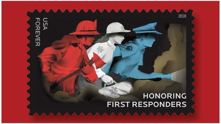 Postal Service Honoring First Responders with Forever Stamps