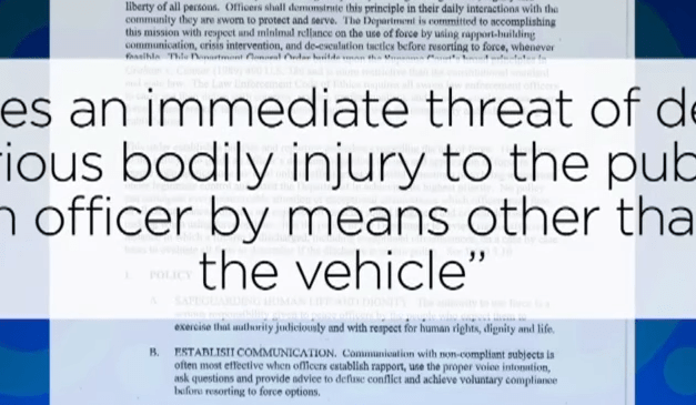 San Francisco Police Policy Prohibits Justified Force