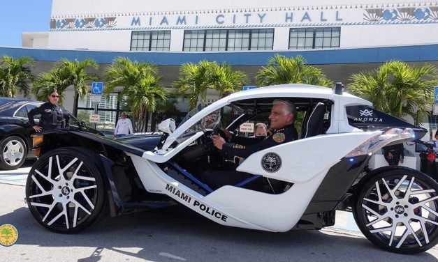 Is This The Coolest Cop Car Ever?