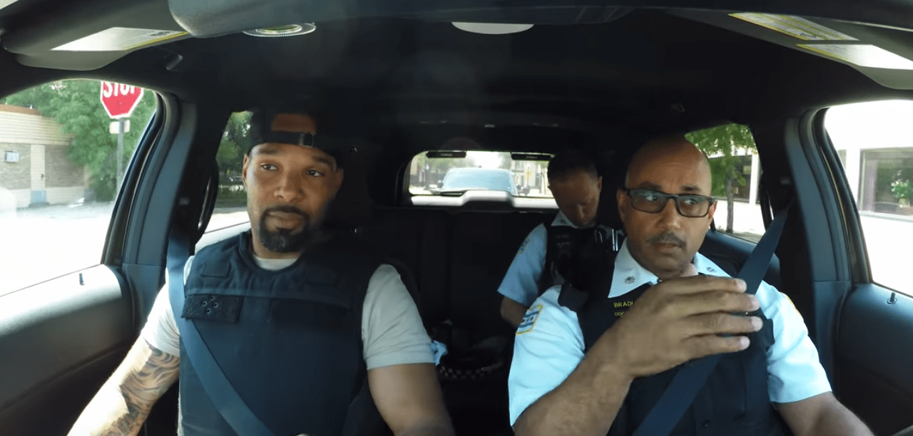 Chicago Bear Told 'F–K You Cop' While On Ride Along