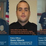 Three Fallen Officers Bring Sober Reminder